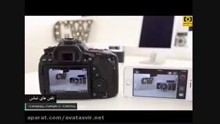 معرفی امکانات wifi در دوربین Canon 80D