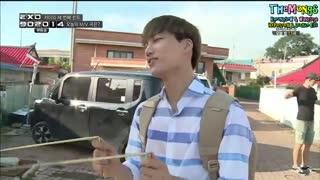 اکسو در برنامه ی 90:2014 ... قسمت 11 موزیک ویدیو کای ... بخش 2 ... EXO