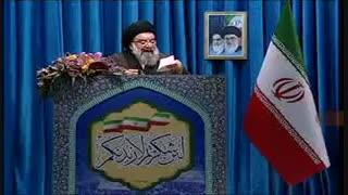 آیت الله احمد خاتمی: معترضان اخیر حکمشان اعدام است