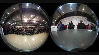 فیلم 360 درجه ای و 11 دقیقه ای از کنفرانس خبری فیلم بمب درجشنواره فیلم فجر
