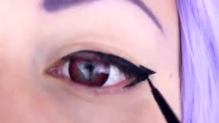 Shinoa Cosplay Makeup Tutorial