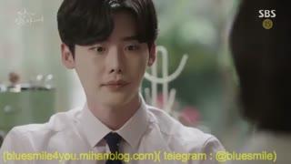 دوبله طنز سریال وقتی تو خواب بودی4( دعوای سوزی با لی جونگ سوک)