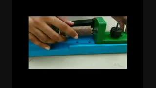 روش ساخت یک مینی دستگاه خراطی دست ساز در منزل