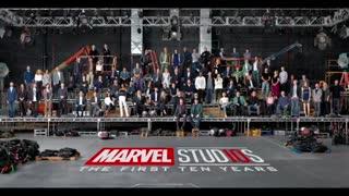 جشن 10 سالگی مارول استودیوز با حضور تمام اعضا