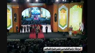صحبتهای تند ابراهیم حاتمیکیا در مراسم اختتامیه جشنواره سی و ششم فیلم فجر