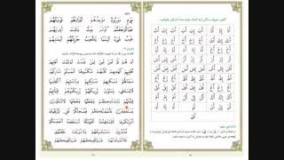 روخوانی قرآن کریم - درس چهارم - علائم و نشانه ها ( ساکن و تشدید)