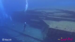 """آیا تمدن عظیم زیر آبی """"یوناگونی""""ساخته دست بیگانگان است"""