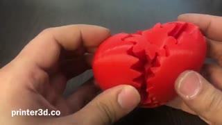 ساخت قلب با پرینتر سه بعدی