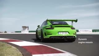 پورشه 911 GT3 RS معرفی شد؛ رقیبی مسابقه ای برای فراری