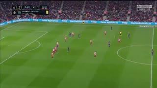 فول مچ بازی بارسلونا 6-1 خیرونا ( نیمه دوم )