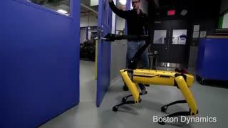 تست پایداری این ربات شگفت انگیز
