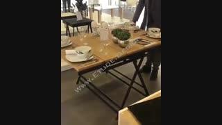 یک میز مدرن و همه فن حریف!