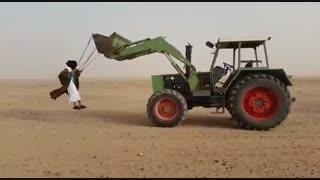 عرب ها در بیابان ...