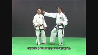 آموزش فرمهای تکوان-دو ITFفرم شماره هجده  CHOI-YONG.