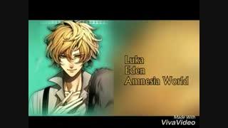 صداپیشه ی لوکا در دنیای فراموشی(بازی انیمه ی فراموشی)یوشیماسا هوسویاسسس