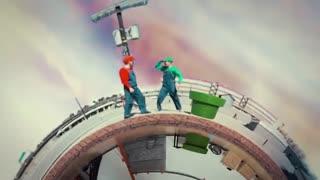 بازی برادران ماریو در واقعیت