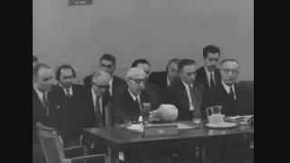 سخنرانی کمتر دیده شده از دکتر مصدق در جلسه شورای امنیت