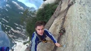 خطرناک ترین مسیر پیاده روی دنیا
