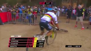 برنده فینال دوچرخه سواری کوهستانی آفریقای جنوبی 2018