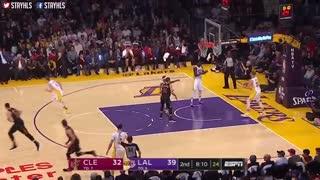 خلاصه بازی Cleveland Cavaliers vs Los Angeles Lakers