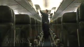 یک روز یک خلبان هواپیما چطور می گذرد