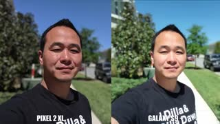 مقایسه دوربین گلکسی اس 9 پلاس و پیکسل 2 ایکس ال