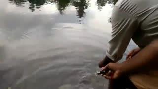 فیلم آموزش ماهیگیری با لنسر