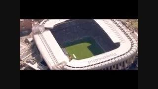 تبلیغ جالب هواپیمایی امارات با حضور بازیکنان رئال مادرید