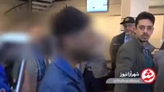 بازسازی صحنه سرقت مسلحانه در مشهد