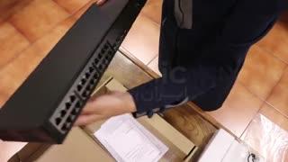 جعبه گشایی HPE OfficeConnect 1920 switch