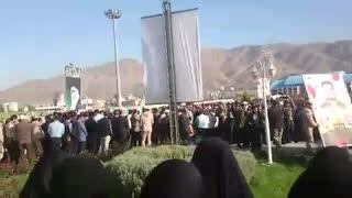تشییع شهیدان حامد رضایی و مهدی لطفی نیاسر