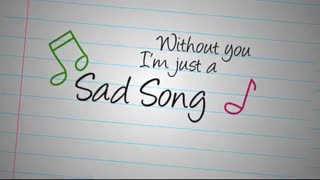 I'm just a (sad song)~we the kings ft.elena