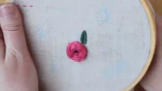 آموزش گلدوزی bloom 5