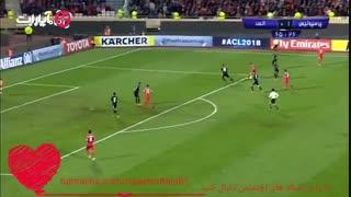 خلاصه بازی پرسپولیس1 v السد0/و صعود پرسپولیس