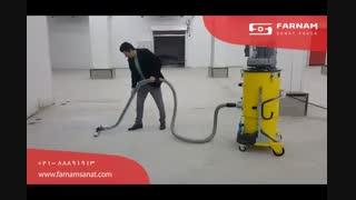جاروی صنعتی- ابزاری مناسب برای جمع آوری موثر و با کیفیت آلاینده ها