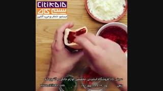 پیراشکی بیکن و پنیر - سیتی کالا