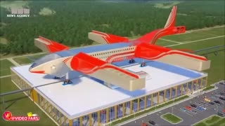 ترن هواپیمایی برقی با سرعت فوقالعاده!