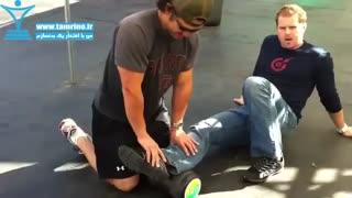 حرکت درمانی درد زانو و پاشنه