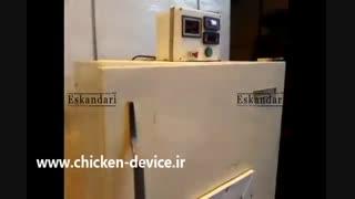 ساخت دستگاه جوجه کشی با یخچال