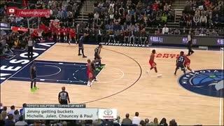 خلاصه بازی Houston Rockets vs Minnesota Timberwolves