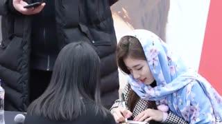 حجاب کردن  سوزی(suzy) بخاطر فن مسلمانش