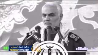 """فیلم درخواست جوان """"فشن پوش"""" از حاج قاسم سلیمانی"""