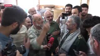 گزارش ویدئوی تسنیم از خانهسازی سپاه برای زلزلهزدگان کرمانشاه