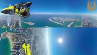 ویدئو 360 از ارتفاعات شهر دبی