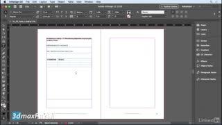 نحوه ساخت جدول تیبل ایندیزاین سی سی آموزش InDesign CC 2018 Creating table