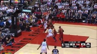 خلاصه بازی Cleveland Cavaliers vs Toronto Raptors