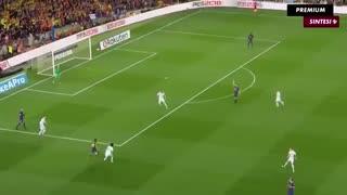 خلاصه بازی بارسلونا 2 - 2 رئال مادرید(الکلاسیکو 16 اردیبهشت 97)