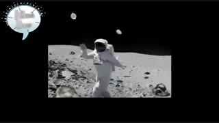 فیلم عجیب از ماه