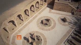 نمائی از بخش قدیمی شهر باکو