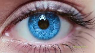 تغـــییر رنگ چشمان شما به رنگ آبی آسمانی __ خیلی خوشگله
